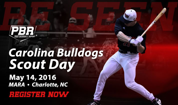 PBR Scout Day: Carolina Bulldogs 05.14.17
